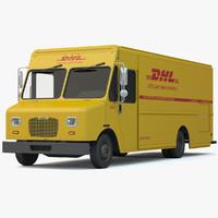 dhl delivery truck van max