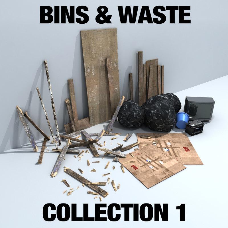 bins waste 3ds