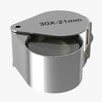 loupe jewler 3d model