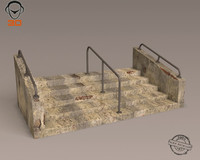 3d max steps modeled