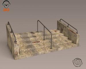 3d max steps modeled
