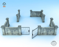 3d wall modeled