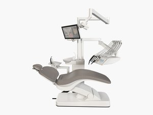 3d model of sirona intego dental operatory
