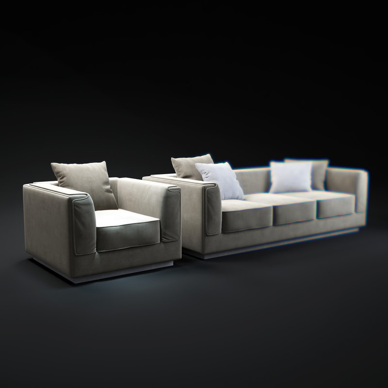 gentleman-sofa 3d max