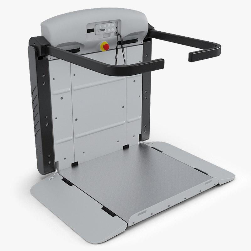 wheelchair lift max