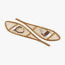 snow shoes 3D models