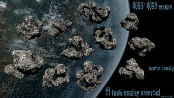 3d obj asteroid