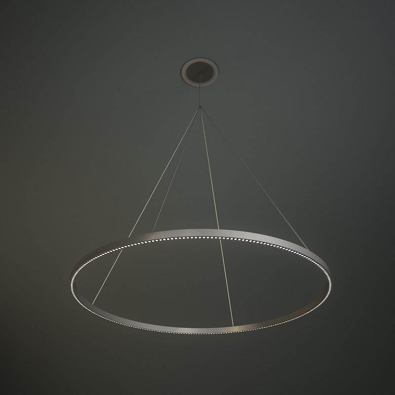 3d modern led lighting model
