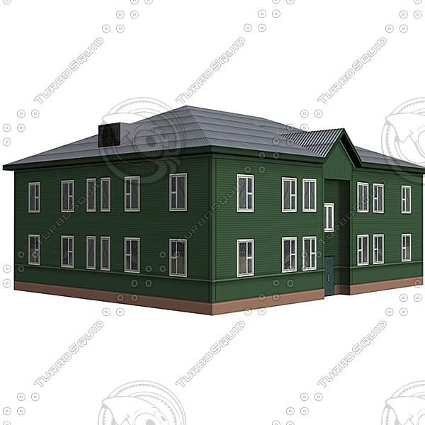 house street 3d model