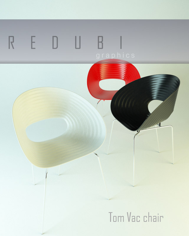 Vac Chair Ron Arad 3d Model # Muebles Tom Mobel