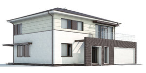 cottage house ho 3d max