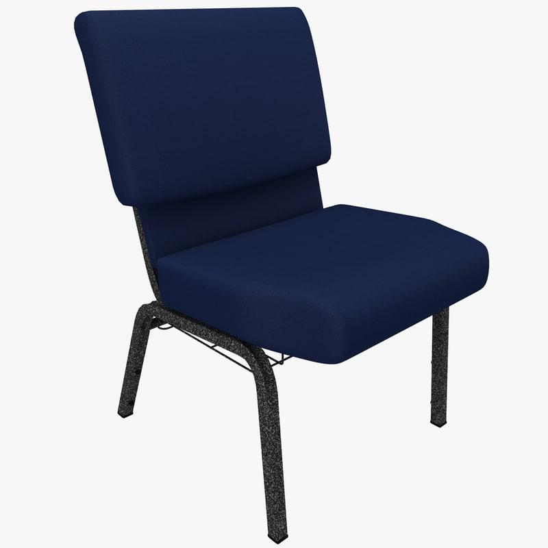 church chair 3ds