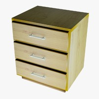 3d drawers model