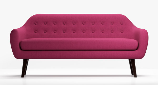 3d sofa ritchie purple model