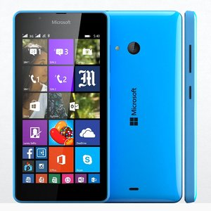 3d microsoft lumia 540 blue model