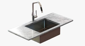 undermount kitchen faucet dornbracht 3d max