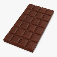 chocolate bar 2 3d model
