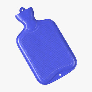 hot water bottle blue max