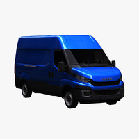 iveco daily 3520h3 3d model