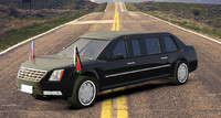 3d model presidential car s