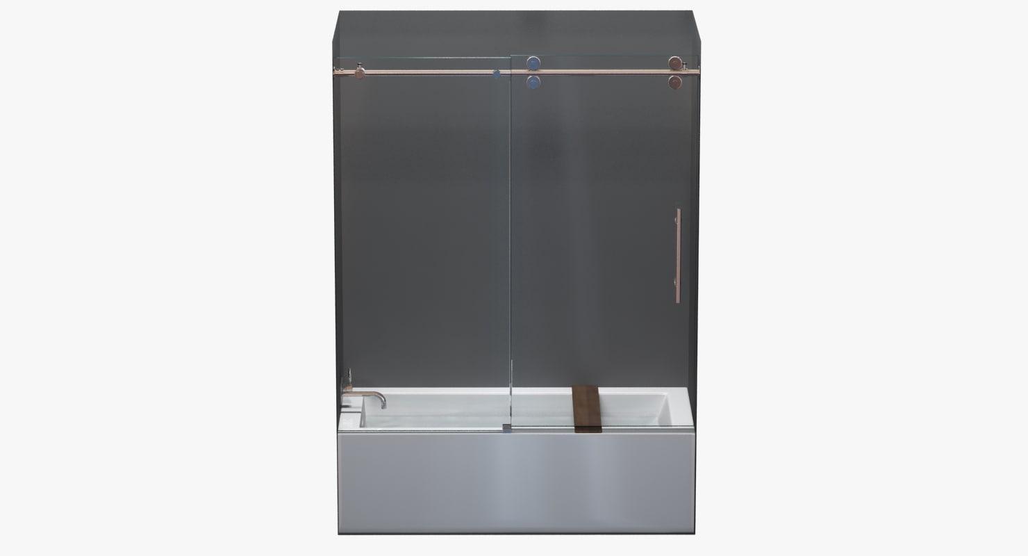3d doors glass kinetik cube