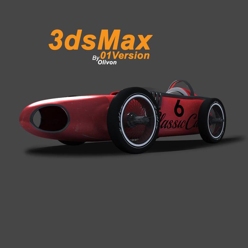 max racing car