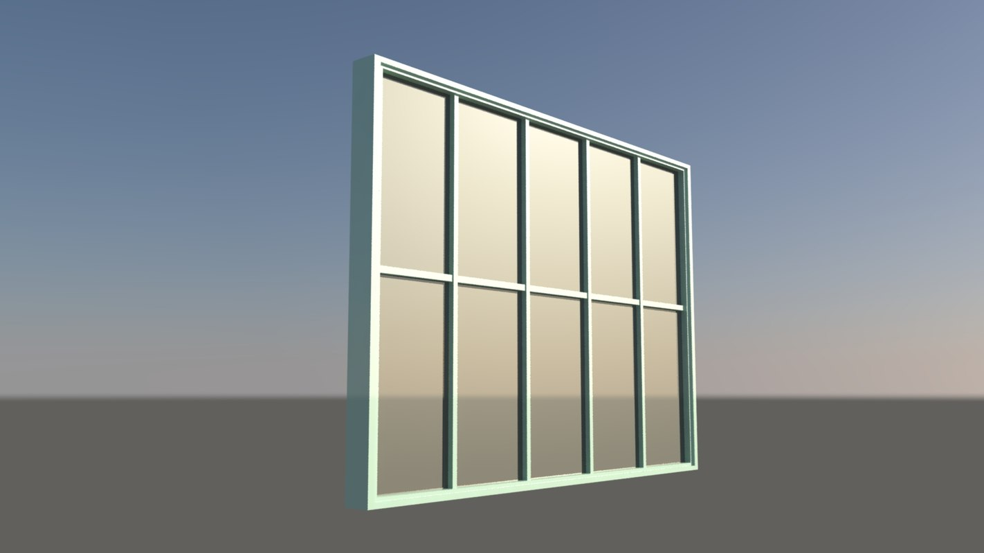 3d house window 2