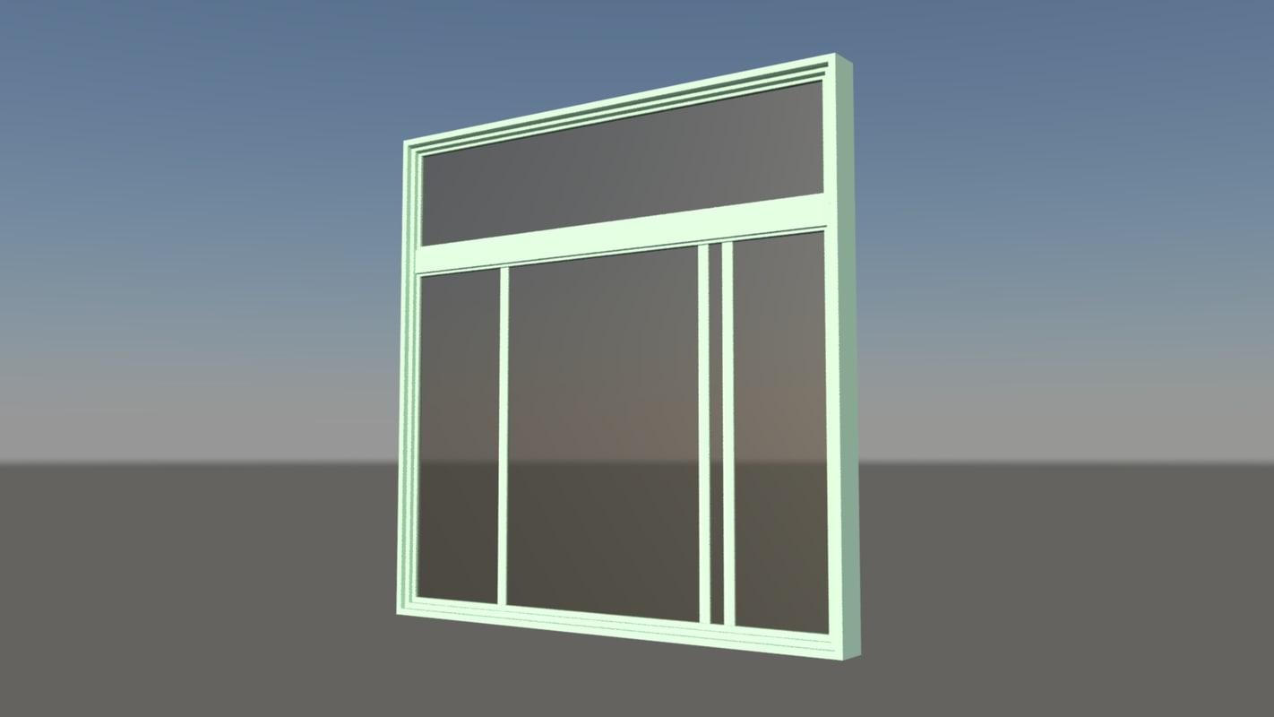 x house window