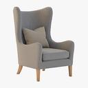 Wingback Chair 3D models