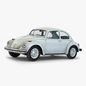 volkswagen beetle 1966 simple 3d 3ds