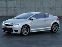 Acura Coupe Concept A1