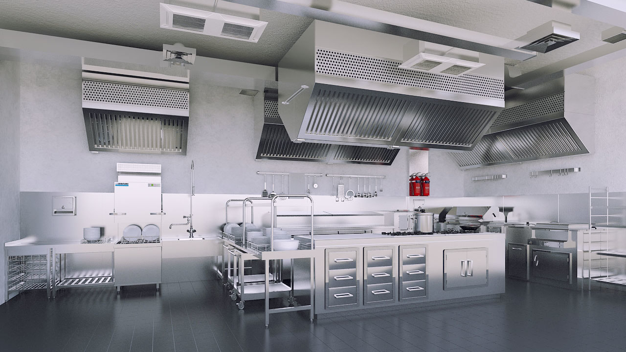 commercial kitchen - Commercial Kitchen