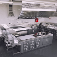 Kitchen 3D Models for Download | TurboSquid