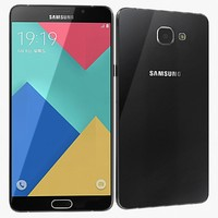 3d samsung galaxy a9 model