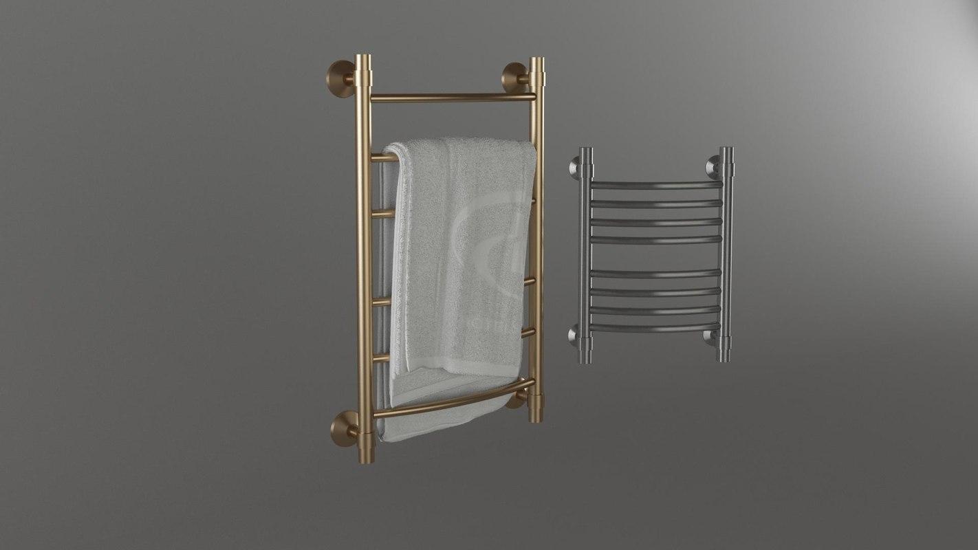 3d model towel rails