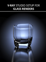 Glass Studio Scene Render Setup | 3ds Max 2014, VRAY