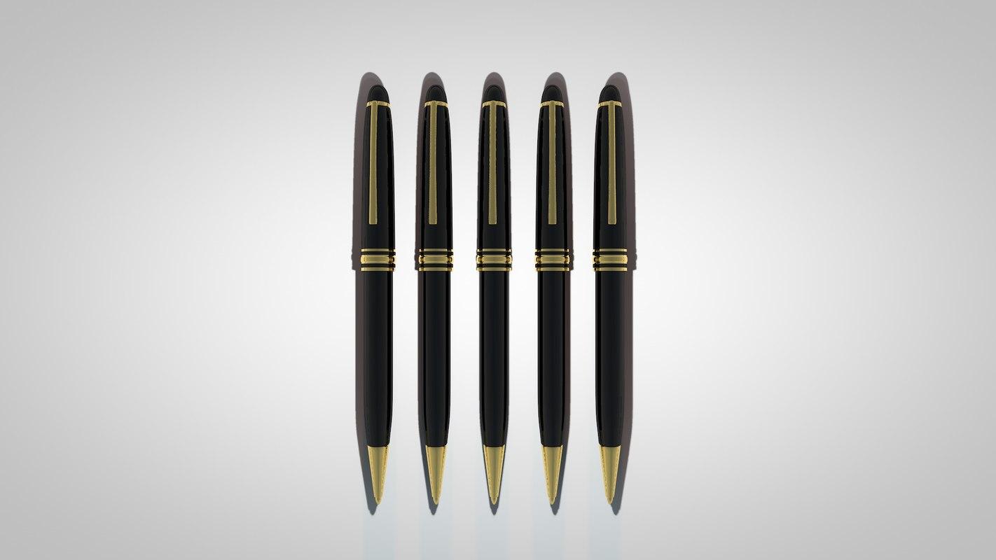 c4d pen gold