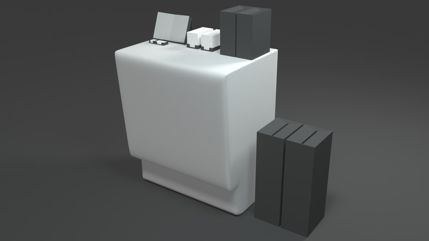 stand voting 3d model