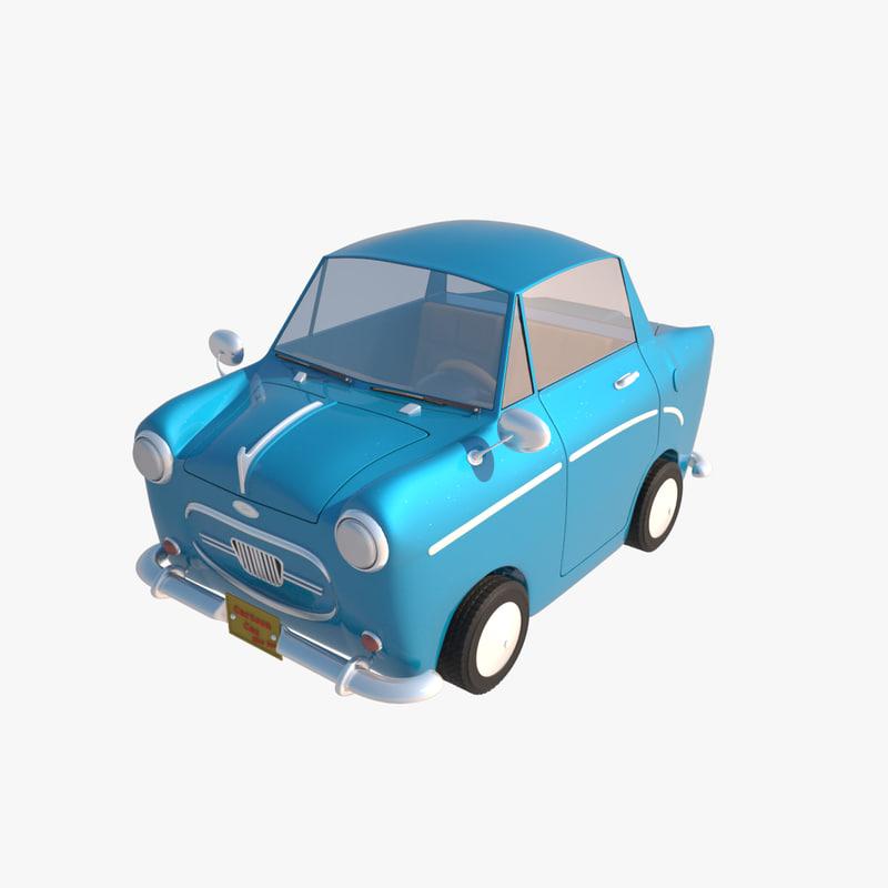 max toon car cartoon