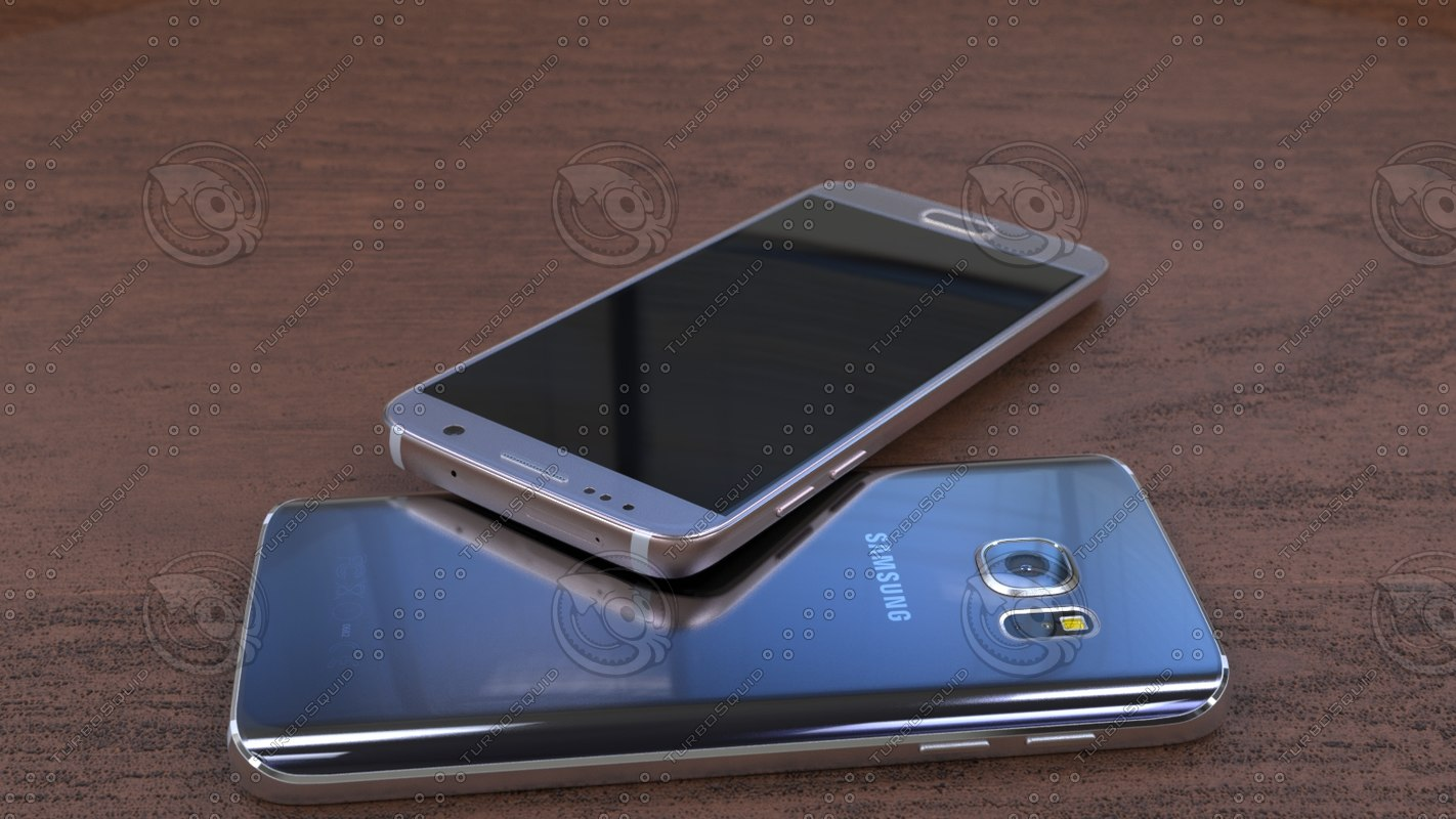 3d samsung galaxy s7 official model