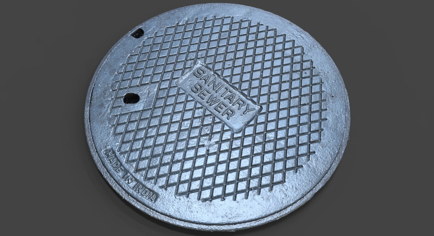 3d sewer sanitary