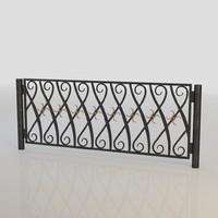 Iron Fence 016