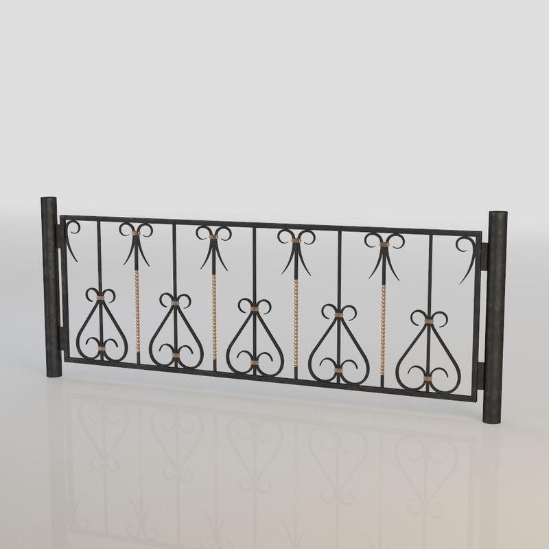 iron fence max