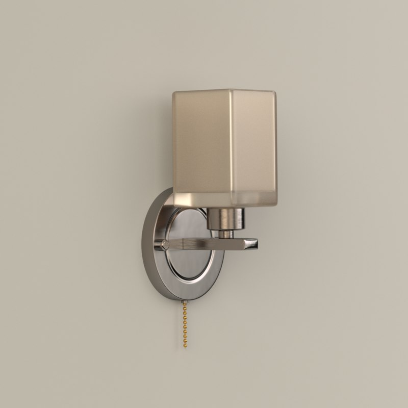 wall lamp obj