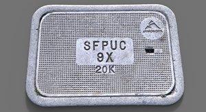 scan sfpuc utility cover 3d obj