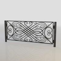 Iron Fence 028