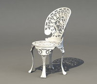 Victorian Ornate Patio Chair