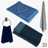 Towels 3D Models Collection