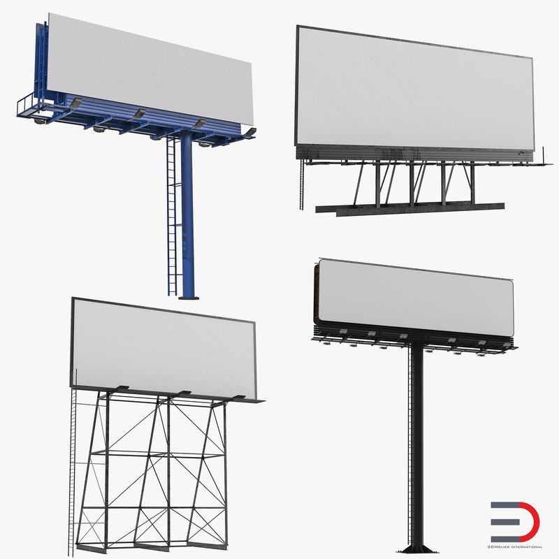 3d billboards rooftop