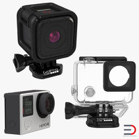 3d gopro set hero4